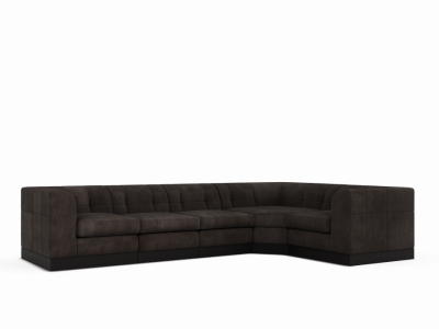 Watergate Sectional (Wood Base)