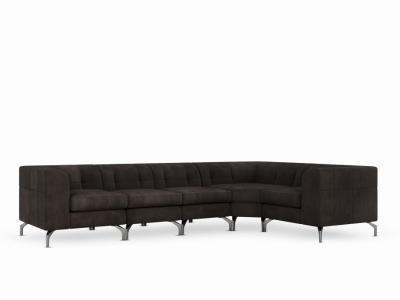 Watergate Sectional (Metal Feet)